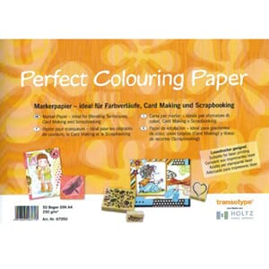 Perfect Colouring Paper, A4 250gr, 10 ark