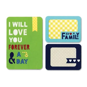 Sizzix: Forever A Day - Thinlits Dies