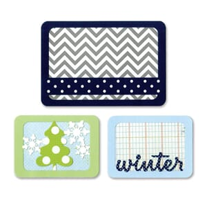 Sizzix: Winter - Thinlits Dies