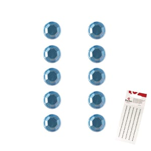 Bling - light blue, ø 3mm 120 stk