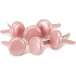 Bazzill: Bling Brads - In The Pink 10mm 18/Pk