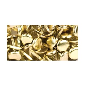 Am.Crafts: Elements Medium Brads  - Gold 48/Pk.