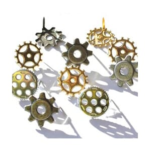 Eyelet Outlet: Gears - Brads