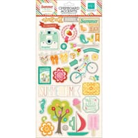 Echo Park Paper: Summer Bliss Chipboard Accents
