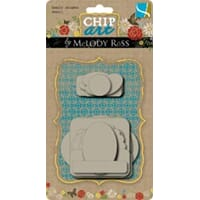 GCD: Chip Art Chipboard Shapes - Basic, small
