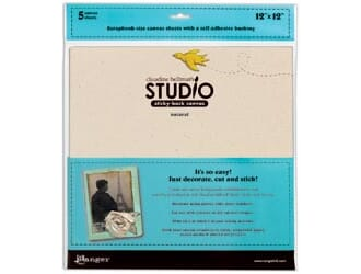 Claudine Hellmuth Studio: Sticky-Back Canvas - Natural