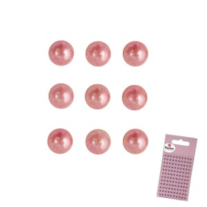 Halvperle - pale-pink, ø 3mm 120stk