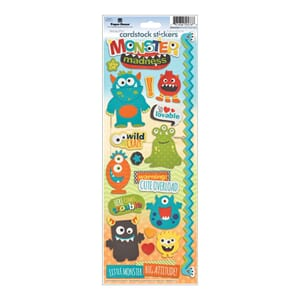 Paper House: Monster Madness - Cardstock Stickers