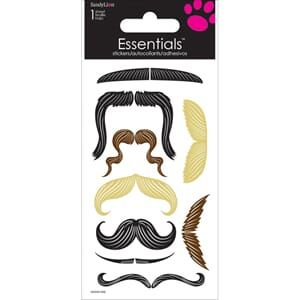 Trends International: Mustaches - Essentials Handm. Stickers