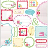 Doodlebug: Nifty Notions Cardstock Cute-Cuts