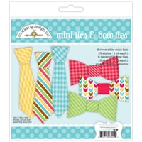 Doodlebug: Mini Bow Ties - Day To Day Paper Craft Kit