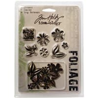 Tim Holtz: Foliage With Long Fasteners - Idea-Ology 18/Pkg