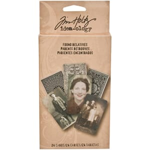 Tim Holtz: Found Relatives Cards - Idea-Ology