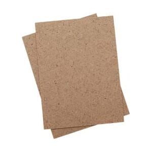 Bind-It-All Clip-Board Wood Covers 3x4inch 1 Pair/Pkg