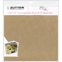 Corrugated Boards - 13x13inch 2/Pkg
