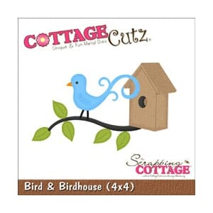 CottageCutz: Bird & Birdhouse - CottageCutz