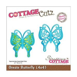 CottageCutz: Ornate Butterfly Made Easy - CottageCutz