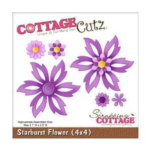 CottageCutz: Starburst Flower - CottageCutz