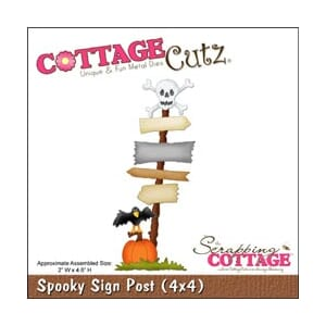 CottageCutz: Spooky Sign Post - CottageCutz