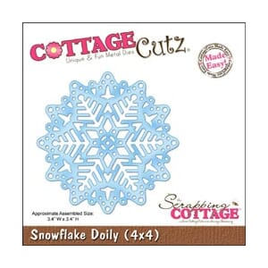 CottageCutz: Snowflake Doily Made Easy - CottageCutz