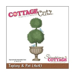 CottageCutz: Topiary & Pot - CottageCutz