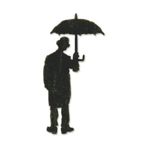 Sizzix: Bigz BIGkick/Big Shot Die By Tim Holtz -Umbrella Man