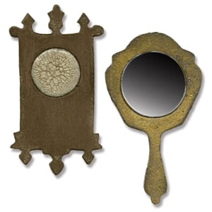 Sizzix: Mini Mirror & Wall Clock - Mov. & Shapers Mag. Dies