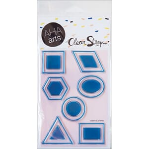 AHA Arts: Essential Shapes - Clear Stamps