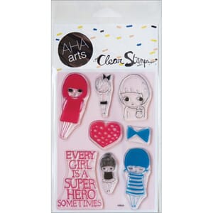AHA Arts: Girls! - Clear Stamps