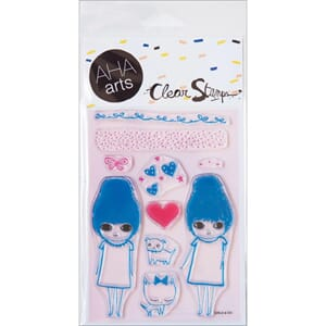 AHA Arts: Girls & Co - Clear Stamps