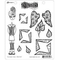 Dylusions: Cling Rubberstamp set - Tallulah Tripp