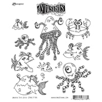 Dylusions: Cling Rubberstamp set - Under the Sea