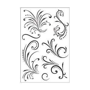 Hero Arts: Clear Stamps - Fantastic Flourishes