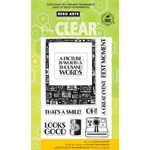 Hero Arts: Looks Good - Clear Stamps