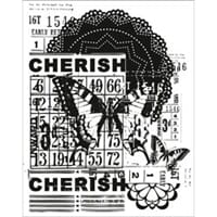 Kaisrcraft: Cherish - Vintage Clear Stamps