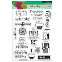 Penny Black: Friendship - Clear Stamps