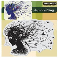 Penny Black: Wistful - Cling Rubber Stamp
