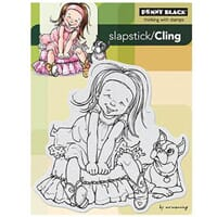 Penny Black: Giggles - Cling Rubber Stamp