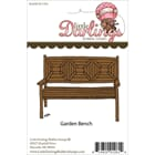 Little Darlings: Garden Bench - Unmounted Rubber Stamp