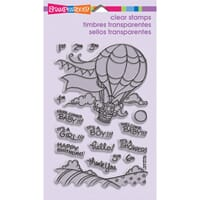 Stampendous: Baby Balloon - Clear Stamps