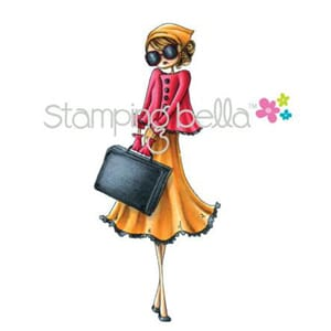 Stamping Bella: Uptown Girl Sunny Is Stylish - Cling Stamp