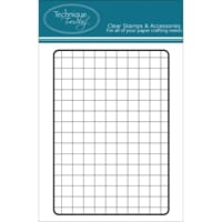 Technique Tuesday: Grid - Clear Stamps