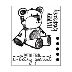 Technique Tuesday: Bear Necessities Clear Stamps