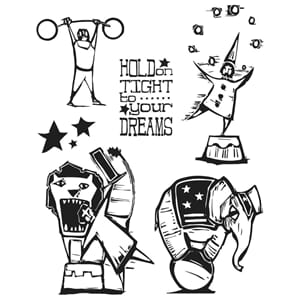 Tim Holz: Big Top - Cling Rubber Stamp Set