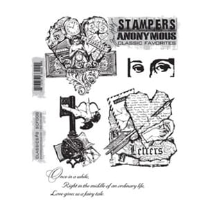 Tim Holz: Classic No 8 - Large Cling Rubber Stamp Set
