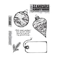 Tim Holz: Classic No 10 - Large Cling Rubber Stamp Set