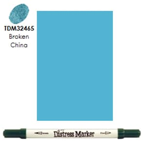 Distress Markers: Broken China
