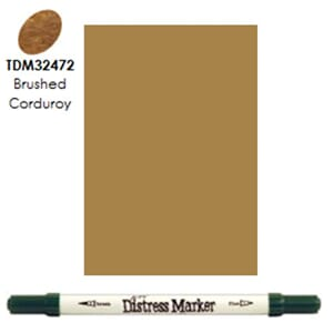 Distress Markers: Brushed Corduroy