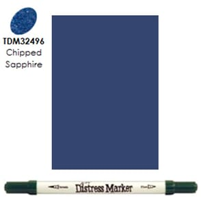 Distress Markers: Chipped Sapphire