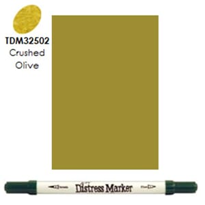 Distress Markers: Crushed Olive